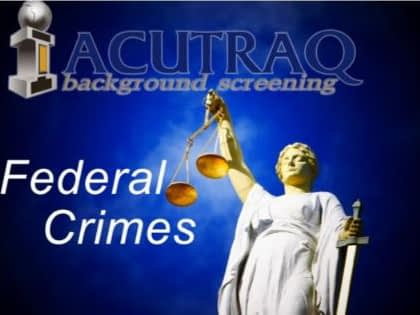 Fedeal Criminal Search